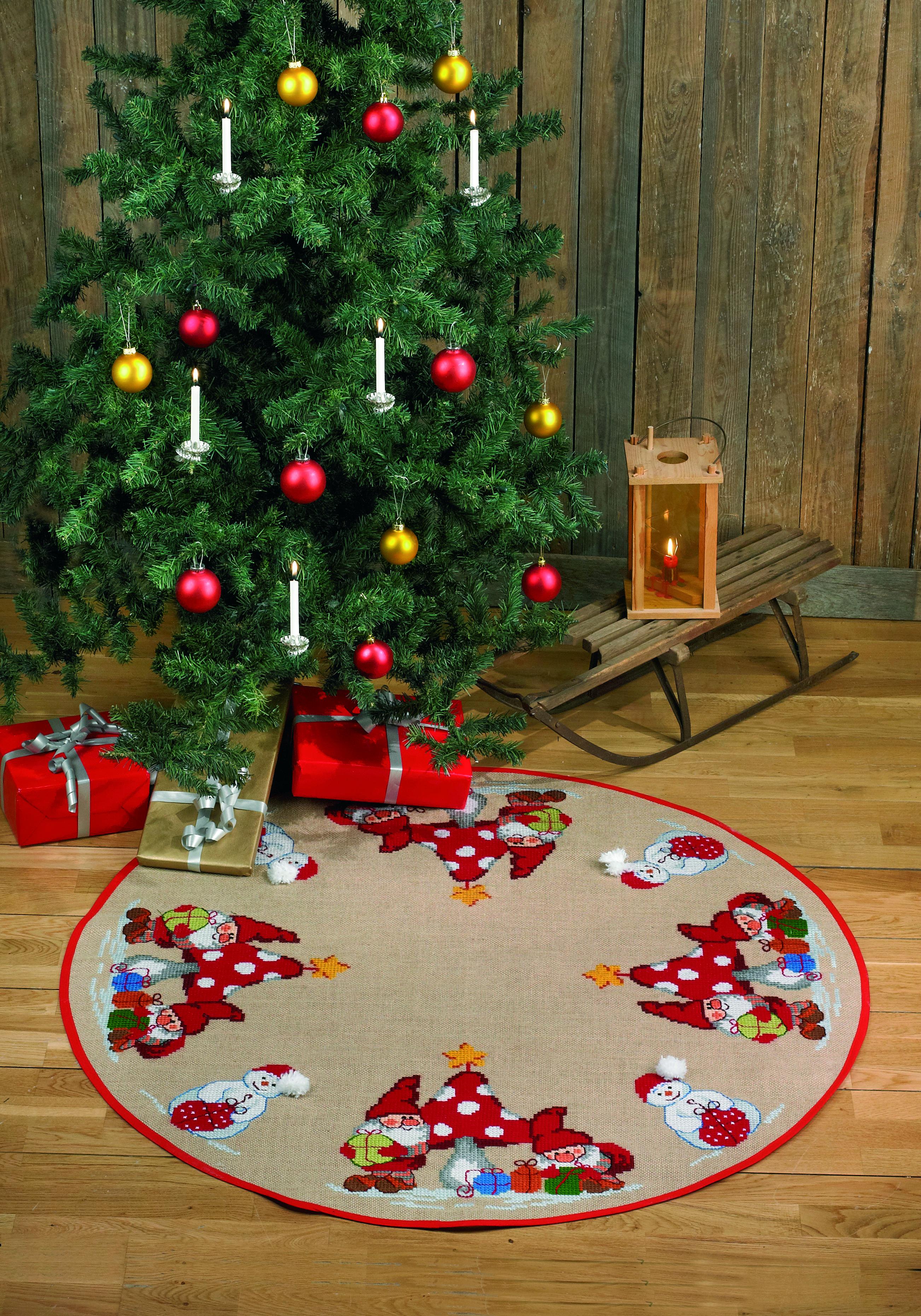 Billede af Juletræstæppe - 45-5228