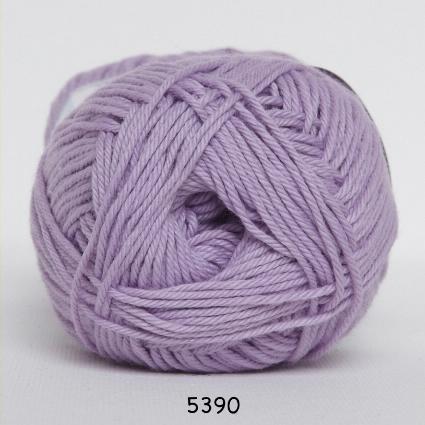 Image of Cotton nr. 8- Bomuldsgarn - Hæklegarn - fv 5390 Lys Lilla