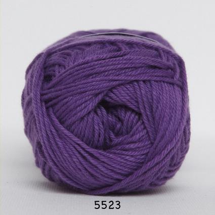 Image of Cotton nr. 8- Bomuldsgarn - Hæklegarn - fv 5523 Mørk Lilla