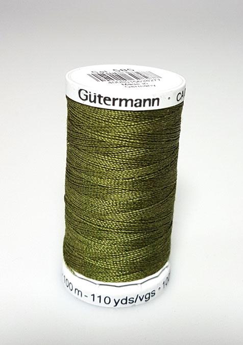 Image of Gütermann - Ekstra stærk sytråd -585 Jagt Grøn