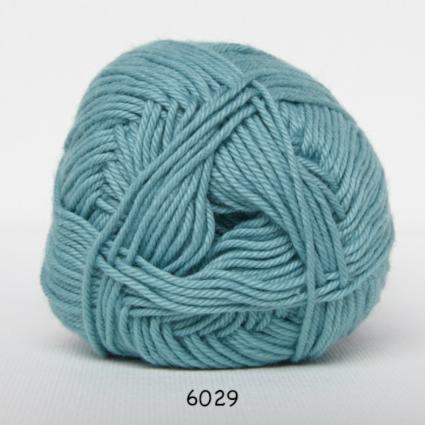 Image of Cotton nr. 8 - Bomuldsgarn - Hæklegarn - fv 6029 Lys Jade Grøn
