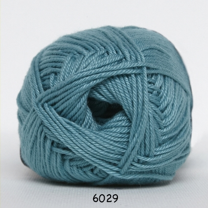 Image of Hjertegarn Diamond Cotton - merceriseret bomuld - fv 6029 Lys Jadegrøn