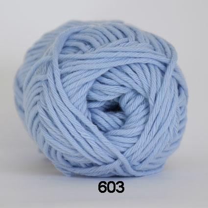 Image of Cotton 8/8 fv 603Lyseblå