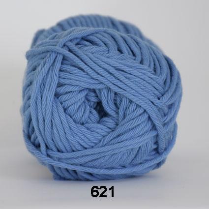Image of Cotton 8/8 fv 621 Blå