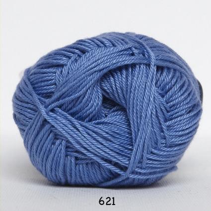Image of Hjertegarn Diamond Cotton - merceriseret bomuld - 621 Blå