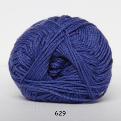 Image of Cotton nr. 8 - Bomuldsgarn - Hæklegarn - fv 629 Lilla