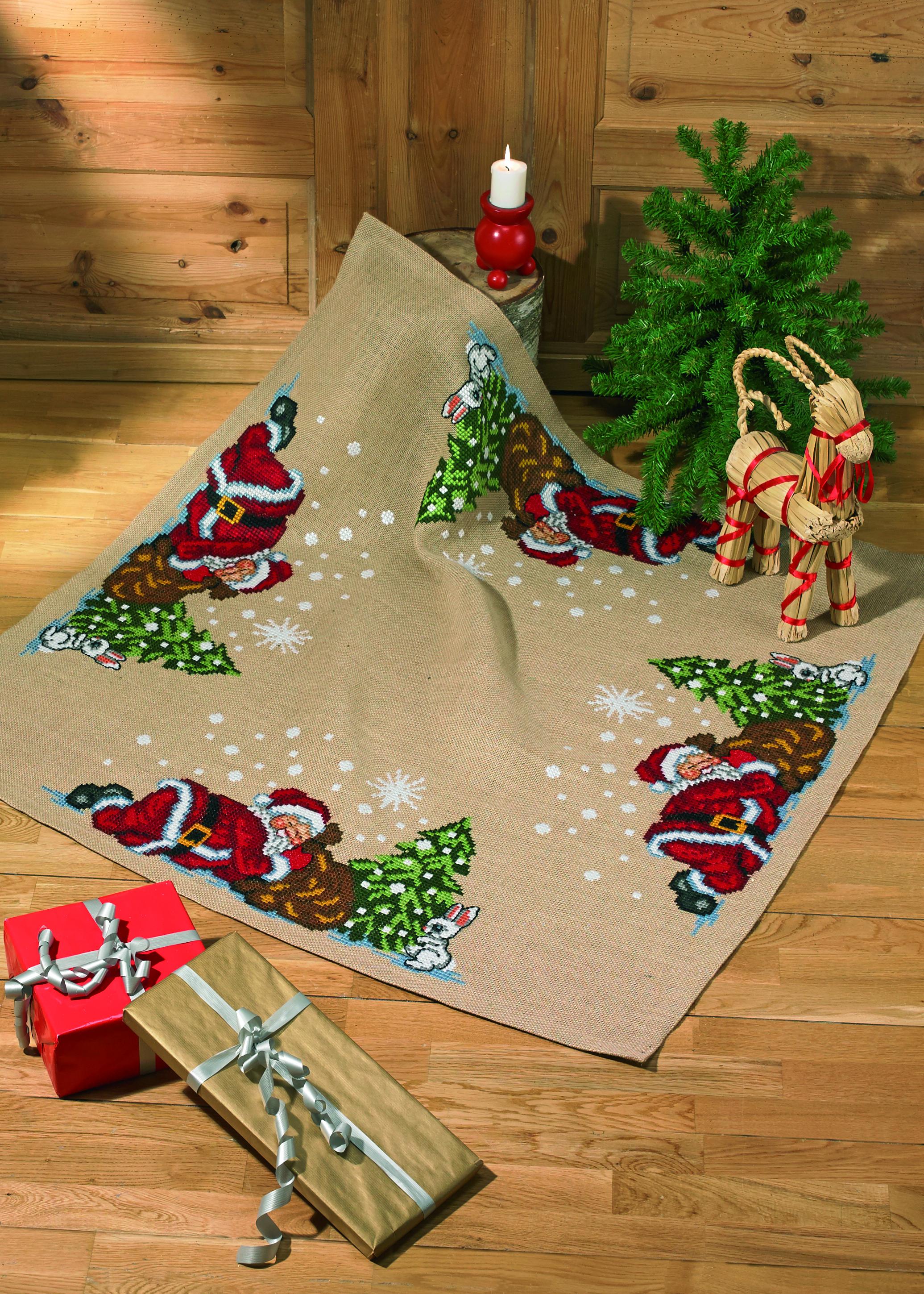 Billede af Juletræstæppe - 45-6298