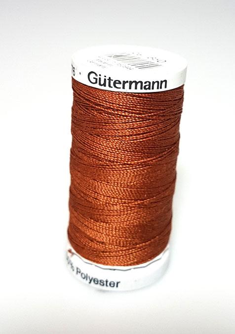 Image of Gütermann - Ekstra stærk sytråd - 650 Mørk Kobber