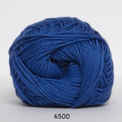 Image of Hjertegarn Diamond Cotton - merceriseret bomuld - fv 6500 Cobolt Blå