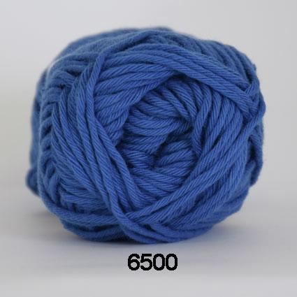 Image of Cotton 8/8 fv 6500 Cobolt Blå