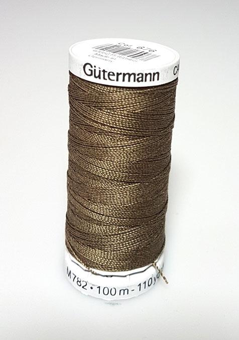 Image of Gütermann - Ekstra stærk sytråd -676 Mørk Jagt Grøn