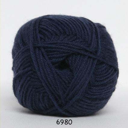 Image of Hjertegarn Ciao Trunte - 100% Merino Uld Superwash fv 6980 Mørke Blå