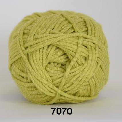 Image of Cotton 8/8 fv 7070 Lime Grøn