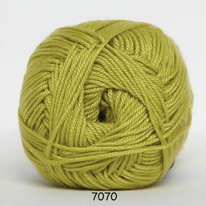 Image of Hjertegarn Diamond Cotton - merceriseret bomuld - 7070 Lime Grøn