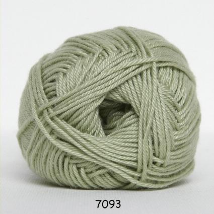 Image of Hjertegarn Diamond Cotton - merceriseret bomuld - fv 7093 Lys Limegrøn