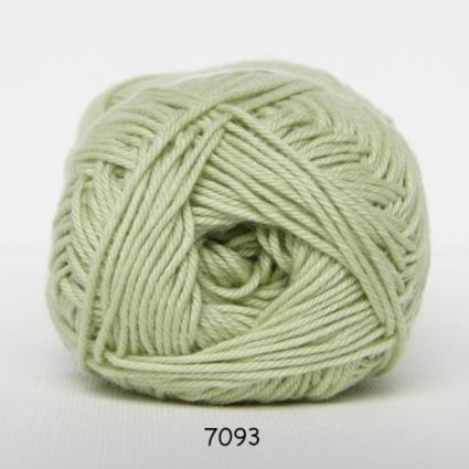 Image of Cotton nr. 8 - Bomuldsgarn - Hæklegarn - fv 7093 Pastel Grøn