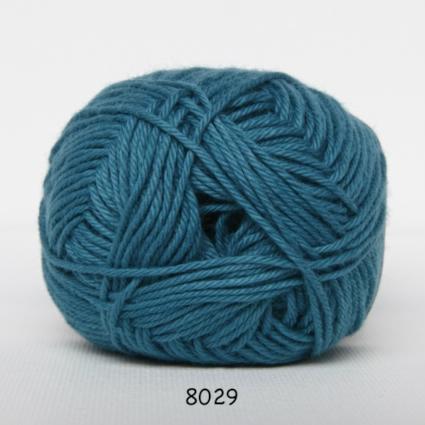 Image of Cotton nr. 8 - Bomuldsgarn - Hæklegarn - fv 8029 Jade Grøn