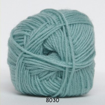 Image of Hjertegarn Ciao Trunte - 100% Merino Uld Superwash fv 8030 Lys Jade