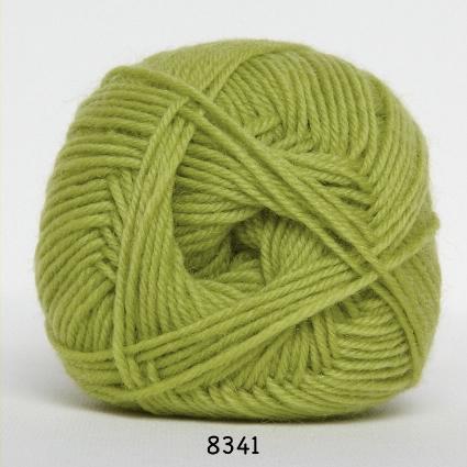 Image of Hjertegarn Ciao Trunte - 100% Merino Uld Superwash fv 8341 Lime Grøn