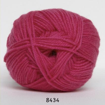 Image of Hjertegarn Ciao Trunte - 100% Merino Uld Superwash fv 8434 Pink