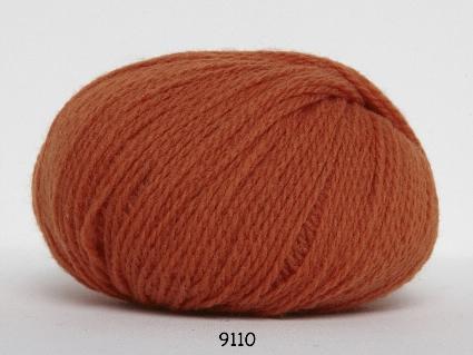 Image of Hjerte Fine Highland Wool - Uldgarn - Hjertegarn - fv 9110 Orange