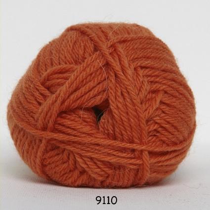 Image of Hjertegarn Exclusive Økologisk Alpaca - 100% Baby Uld fv 2110 Koral