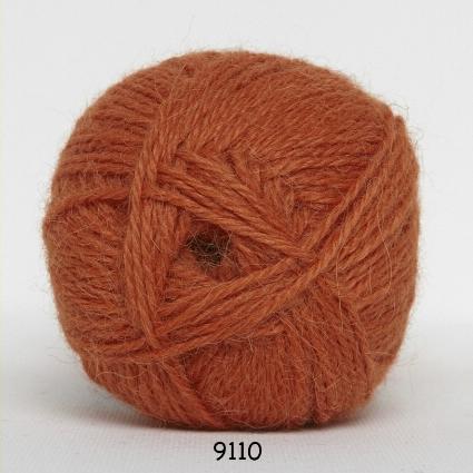 Image of Hjerte Alpaca - Alpaca Uldgarn - fv 9110 Orange