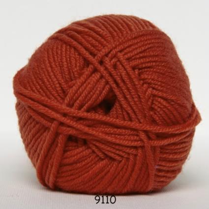 Image of Hjertegarn Extrafine Merino 150 Garn - fv 9110 Orange