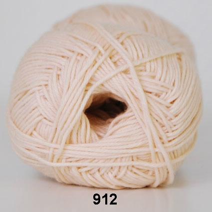 Image of Cotton nr. 8- Bomuldsgarn - Hæklegarn - fv 915 Hudfarve