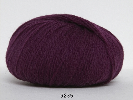 Image of Hjerte Fine Highland Wool - Uldgarn - Hjertegarn - fv 9235 Rød Lilla