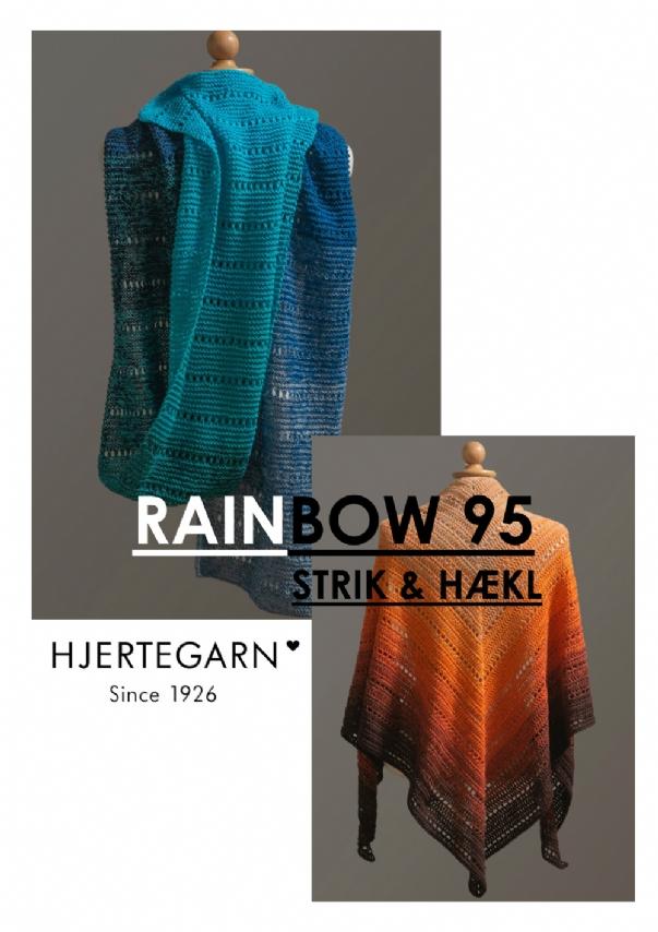 Strikkehæfte - Rainbow 95 - Strik & Hækl
