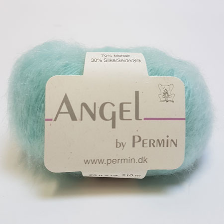 Image of Angel Permin - Mohair og silkegarn - 884133 Mint Grøn