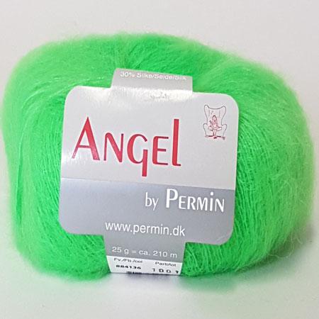 Image of Angel Permin - Mohair og silkegarn - 884136 Neon Grøn