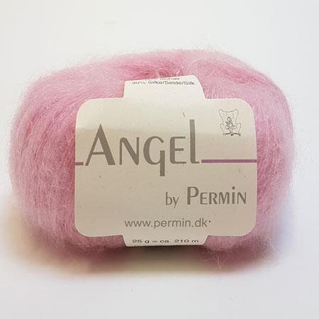 Image of Angel Permin - Mohair og silkegarn - 884180 Lys Rosa