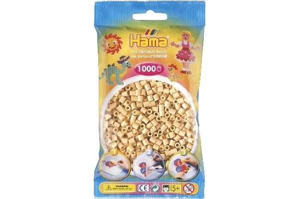 Image of Hama midi perler - 207-27 - Beige - 1000 stk