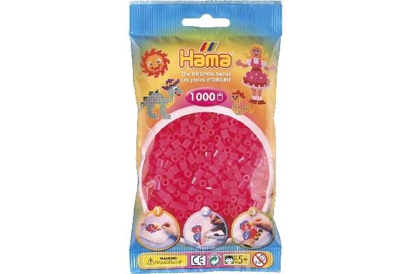 Image of Hama midi perler - 207-32 - Fuschia - 1000 stk