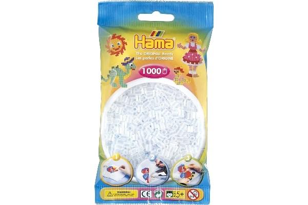 Image of Hama midi perler - 207-19 - Klar - 1000 stk
