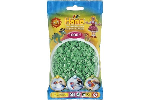 Image of Hama midi perler - 207-11 - L Grøn - 1000 stk