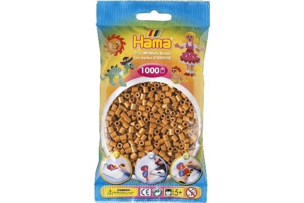 Image of Hama midi perler - 207-21 - Lys Brun - 1000 stk