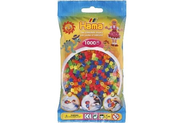 Image of Hama midi perler - 207-51 - Neon Mix - 1000 stk