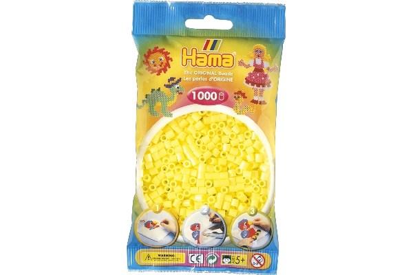 Image of Hama midi perler - 207-43 - Pastel Gul - 1000 stk