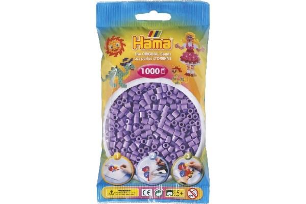 Image of Hama midi perler - 207-45 - Pastel Lilla - 1000 stk