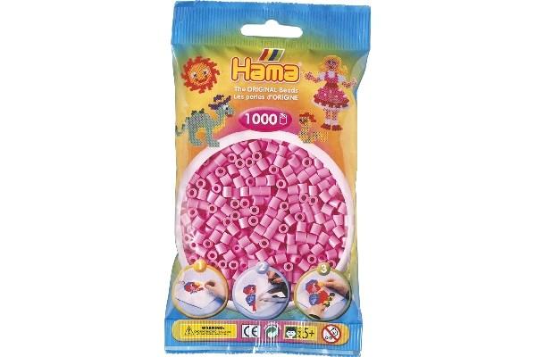 Image of Hama midi perler - 207-48 - Pastel Pink - 1000 stk
