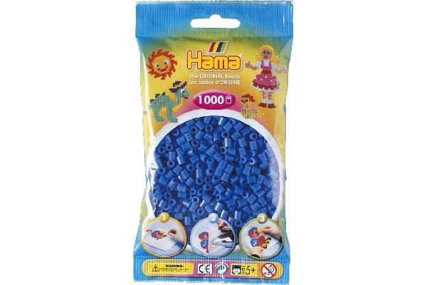 Image of Hama midi perler - 207-09 - Lys cobolt blå - 1000 stk