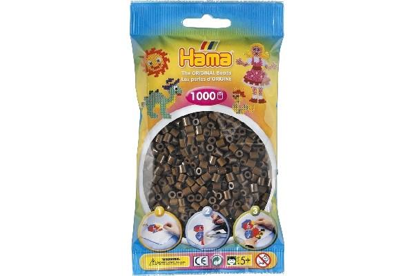 Image of Hama midi perler - 207-12 - Brun - 1000 stk