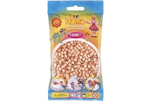 Image of Hama midi perler - 207-26 - Hud farvet - 1000 stk