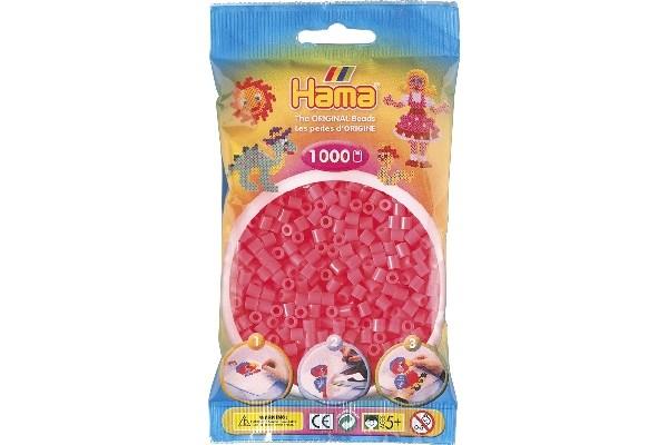 Image of Hama midi perler - 207-33 - Pink - 1000 stk