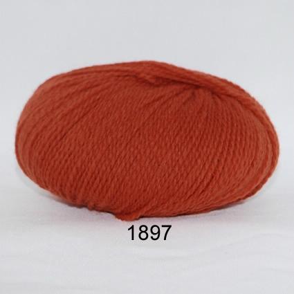 Image of Hjerte Fine Highland Wool - Uldgarn - Hjertegarn - fv 1897 Mørk Orange