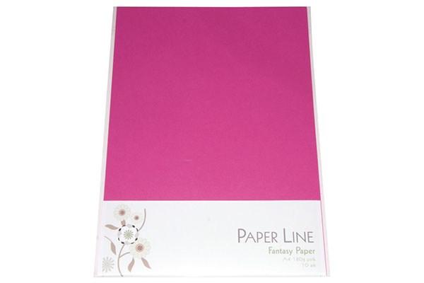 Image of Fantasy Karton - 180g A4 10 stk i pakke Pink