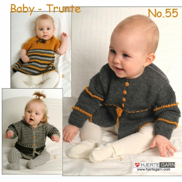 Baby  Strikkeopskrift nr 55